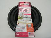 Range Kleen Electric Range Porcelain Drip Bowls Black 1 Large 1 Small