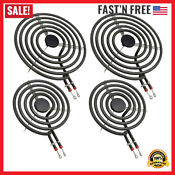 Electric Range Burner Element Unit Set Replacement For Kenmore Whirlpool