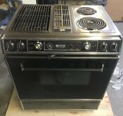 Jenn Air Electric Downdraft Oven Stove Range With Grill Model S120