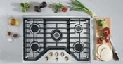 Ge Cafe 30 In 5 Burners Stainless Gas Cooktop Cgp95303ms2