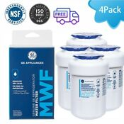 4pcs Fit For Ge Mwf Smartwater Water Filter For Gwf 9905 Gwfa Hwf Mwfp 46 9991