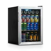 Beverage Refrigerator Cooler With 90 Can Capacity Mini Bar Beer Fridge With