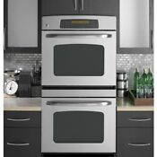 New Ge 30 Stainless Steel Double Oven With Convection Jtp75spss