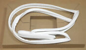 Wr24x450 For Ge Refrigerator Fresh Food Door Gasket White Ap2067923 Ps296973