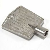 4356840 Whirlpool Freezer Key Door Oem 4356840