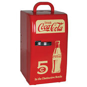 New Coca Cola Coke 18 Can Mini Fridge Compact Refrigerator Office Dorm Retro
