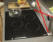 Dacor 30 4 Ribbon Elements Glide Controls Smoothtop Electric Cooktop Met304bg