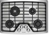 Electrolux 30 4 Sealed Burners 2 Max Burner Stainless Gas Cooktop Ew30gc55gs