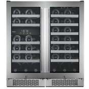 Avallon Awc500tz Built In 30 W 50 Bottle Capacity Wine Cooler With Dual Temperat