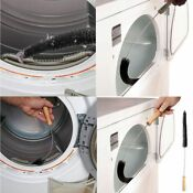 Clothes Dryer Vent Trap Cleaner Brush Lint Washing Cleaning Machine Pipe Tool