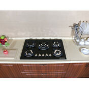 Top 30 Tempered Glass Built In Kitchen 5 Burners Stove Ng Lpg Gas Hob Cooktops