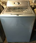 Washer Dryer Set Maytag Bravos High Efficiency Top Load Electric White