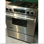 Jenn Air Downdraft Range Gas Stove Oven Jds9860aap 30 Inch 220 Power