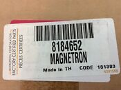 Whirlpool Microwave Magnetron Part 8184652 New In Box