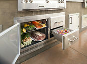Alfresco Arxe 42 45 Wide 7 2 Cubic Foot Outdoor Built In Refrigerator With