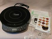 Nuwave Precision Induction Cooktop Model 30101 Opened Original Box