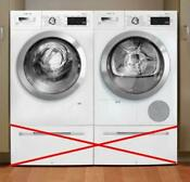 Bosch 800 Series Wifi White Washer And Dryer Set Waw285h2uc Wtg865h2uc
