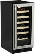 Marvel Ml15ws0r 15 Wide 23 Bottle Built In Wine Cooler With Incandescent