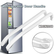 Refrigerator Door Handle White Fit General Electric Ge Wr12x22148 Wr12x11011