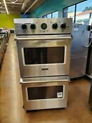 Viking Professional 5 Series 27 Double Wall Oven Vdoe527ss