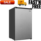 Arctic King 3 0 Cu Ft Compact Upright Freezer White Stainless Steel Door E Star