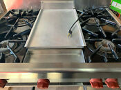 1989 Wolf Asi 36 4 C3 D 36 Gas 4 Burner Griddle Stainless Cooktop