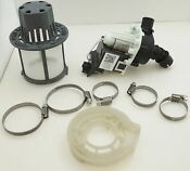 Dishwasher Drain Pump Kit For General Electric Ap6872681 Wd19x25180