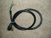 Electricord 6 Range Stove Dryer Power Cord 4 Prong 6 Ga Appliance Used 0 S H