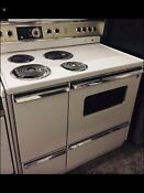 Vintage General Electric Ge Stove Range Double Oven Working Clean Beautiful