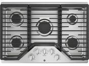 Ge 30 Stainless Steel Built In Gas Cooktop 5 Burners Jgp5030slss Nib
