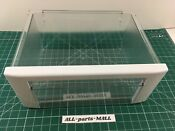 Ge Monogram Refrigerator Sealed Produce Pan Assembly Wr32x10332 Wr71x25601