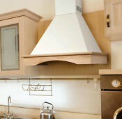 Italian Nt Air Range Hood Wall Mounted Wood 36 Chr 115 Country Style