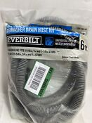 X3 Everbilt 6 Ft Universal Corrugated Dishwasher Drain Hose Kits 1001298167