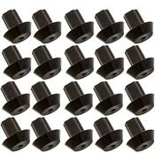 20 Pack Of Viking Range Compatible Grate Rubber Feet Bumpers Heat Resistant