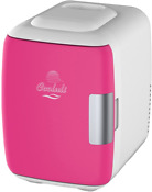 Fuchsia Mini Usb Power Bank Option 6 Can Electric Cooler And Warmer 4 L Fridge