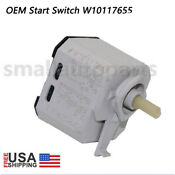 Original Oem W10117655 Whirlpool Dryer Pust To Start Switch Wpw10117655 Us Stock
