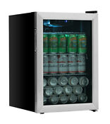 Edgestar Bwc91 Stainless Steel 17 W 80 Can Capacity Extreme Cool Beverage Center