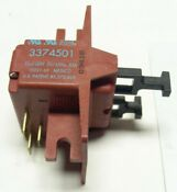 Genuine Wpl Kenmore Dishwasher Motor Switch 3374501 Free Ship Only 13 95