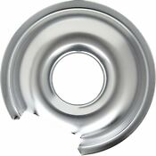 Range Chrome 6 Drip Pan For General Electric 6ge Wb32x10012