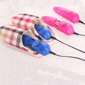 1 Pair Retractable Shoes Dryer Household Drying Shoe Machine Winter Warmer Blue