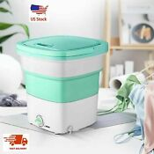 Portable Washing Machine Mini Foldable Cleaning Bucket Small Laundry Dormitory