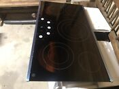 New Ge Wb62x24222 Stainless Electric Cooktop Glass Read Description