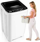 Automatic Compact Laundry Washer Dryer 10 Programs Selections With Led Display