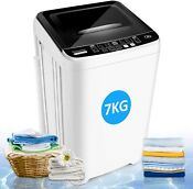 Washing Machine Portable Washer Full Automatic Home Compact Laundry Spin Dryer