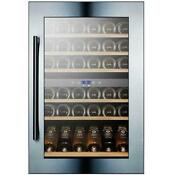 Summit Vc60d 24 W 59 Bottle Capacity Built In Wine Cooler Stainless Steel