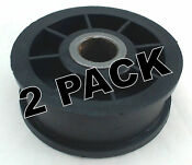 2 Pk Dryer Idler Pulley For Maytag Magic Chef Speed Queen 510142p Y54414