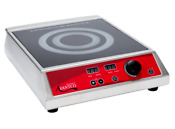 Commercial Induction Range Cooker 120v 1800w Stainless Steel Body