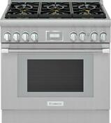 Thermador Pro Harmony Professional 36 Ss Smart Pro Style Gas Range Prg366wh