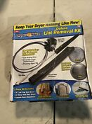 Dryer Max Vent Duct Cleaning Lint Trap Removal Vacuum Kit New In Box