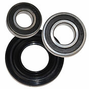 Hqrp Bearing Seal Kit For Whirlpool Duet Sport Wfw9050xw03 Wfw9150ww00 Washer